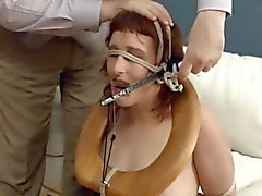 shocking BDSM toilet slut fucked anally hard