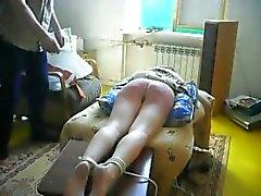 Dolorosa amatoriali BDSM bastonatura Comparto di Katja
