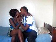 Sesso amatoriale per la prima volta delle coppie teenager sudafricane nere