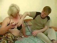 Big Drunk Mom Gets Fucked By Teen