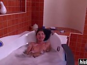 Pretty Liona gets fucked in the bathtub
