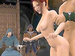 La pornographie Partouze 3D de