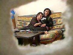 Turkish Jugendlich mit russischer Mann