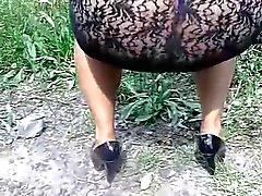 roxana vestido transparente