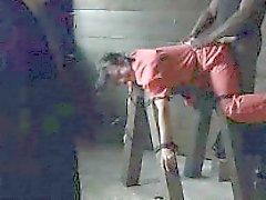 Los prisioneros de sexo femenino contuve y castigados !