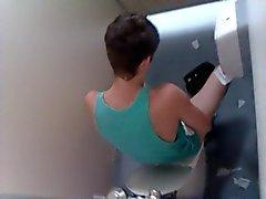capturé branleur de de toilette