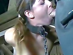 Hardcore toy pleasuring for babe