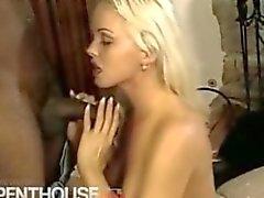 Black Guy Hard Fucking a Hot Blonde!