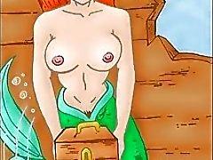 Die porno arielle meerjungfrau Arielle, die
