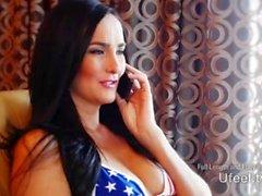 Interaktiivinen - Bianca Breeze Nauttii itselleen hänen Yhdysvallat Bikini