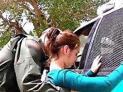 Petite teen messicano sta ferocia fottuto di attraversamento confini