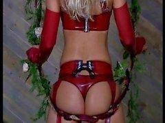 Jenny Poussin Playboy Cherry Vine Latex
