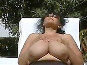 Large Granny With Saggy Tits In Paradise