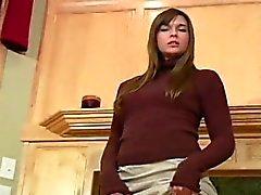 bellezze Kinky il decollo camice corpo colorato e collant in