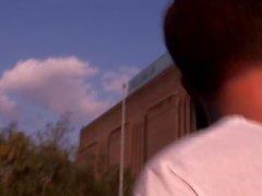 Interpretado - Lucas Desmond es follada por extraño Marcos Coxx