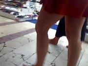 my friends moms, barefoot walking at bazaar