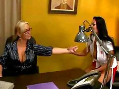 Nina Mercedez And Abbey Brooks