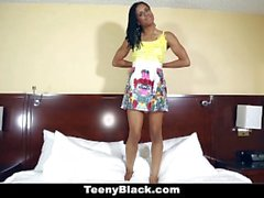 TeenyBlack - First порно кастинг Кирой Нуара