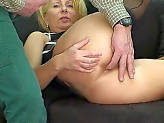 anale avec le MILF allemand blonds