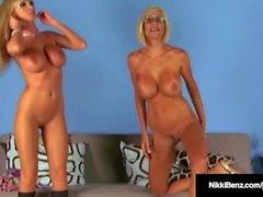 Penthouse Pet Nikki Benz & Fuck Bud Puma Swede Nude on Cam!