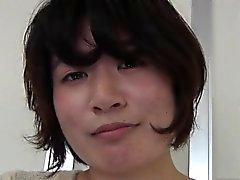 Oriental teenage closeup