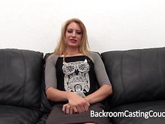 Alissa auditions for a job in porn at Backroom Casting Couch