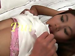 Chica tailandesa joven hermosa Del coño palpitación del