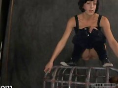 Slave is in the cage finally