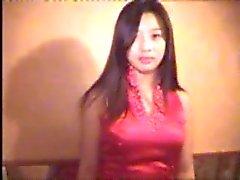 Güzel Çinli bir kız