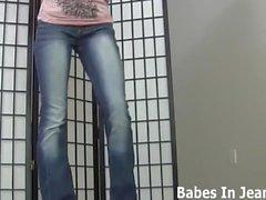 Diese super engen Jeans wirklich meine Muschi JOI umarmen