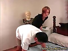 Hot sexy nasty brunette Babe spanking part5