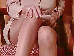Karma Rosenberg - Strumpfhosen - Junge Saue in Nylon