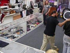 Hardcore voyeur penetrate at public place