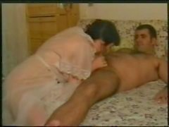 Hairy Spanish housewife shower