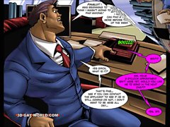 Fiammeggiante Four gay da dei supereroi Animate fumetti