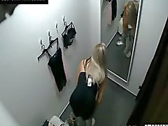 Voyeur Mooi Blond Fitting Lingerie