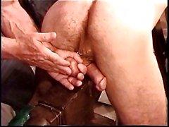 Hot Muskel Stud Derek Da Silva kommt Bälle bashed