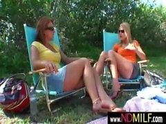 Lesbian nextdoor milf sex scene 11