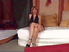 Sıcak Olgun Redhead Cougar Calliste