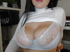 Big Tits BBW Chubby Teen 2! SPERMA ! WEBCAM! Tette! MASTURBANO !