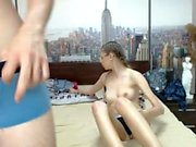 Amateur Teen Blowjob en Adult Webcam Show