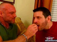 Chad Brock libbre lo sperma fuori dal suo il fidanzato di argilla Towers