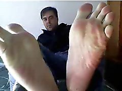 Heterosexuales los pies en la webcam # doscientos cuarenta y cuatro
