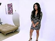 latina fucked in the ass at photo shoot audition casting