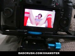 DadCrush - Hot Teen Strip-Teases For Step-Dad