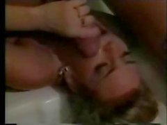 Sexy classic porn star Samantha Strong in vintage hardcore fucking