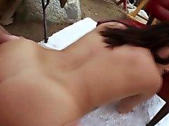 HoChi ottiene il culo enorme fingered