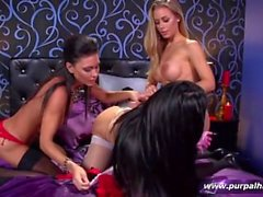 HUGE TITS Amy Anderssen With Nicole Aniton and Jessica Jaymes