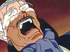 Do hentai alegres mel de recebendo fodido por um velho