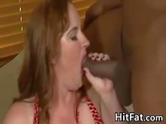 Fat Wife Cheats With A BBC